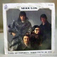 Discos de vinilo: DISCO DE VINILO, SINGLE, MODULOS, HISPAVOX, H 550, 1969. Lote 49494770