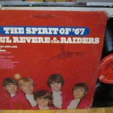Discos de vinilo: PAUL REVERE & THE RAIDERS / THE SPIRIT OF`67 !! GARAGE .. RARA 1ª EDIC ORG USA 360 SOUND COLUMBIA !!. Lote 56147526