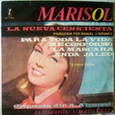 Discos de vinilo: MARISOL.LA NUEVA CENICIENTA LP...RARA EDICION MEXICO. Lote 49508524