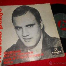 Discos de vinilo: MANOLO PELAYO REGRESARE/ RUFO EL PESCADOR 7 SINGLE 1966 COLUMBIA. Lote 49518627