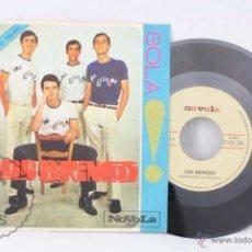 Discos de vinilo: SINGLE VINILO - LOS BRINCOS. BORRACHO / SOLA - ED. ZAFIRO / NOVOLA, AÑO 1965. Lote 49519517