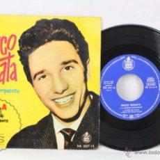 Discos de vinilo: EP VINILO - ROCCO GRANATA Y SU ORQUESTA. LA BELLA / CHA CHA CHA / TORNA A SORRENTO - HISPAVOX, 1960. Lote 49519770