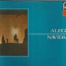 Discos de vinilo: ALEGRES NAVIDADES. Lote 49521069