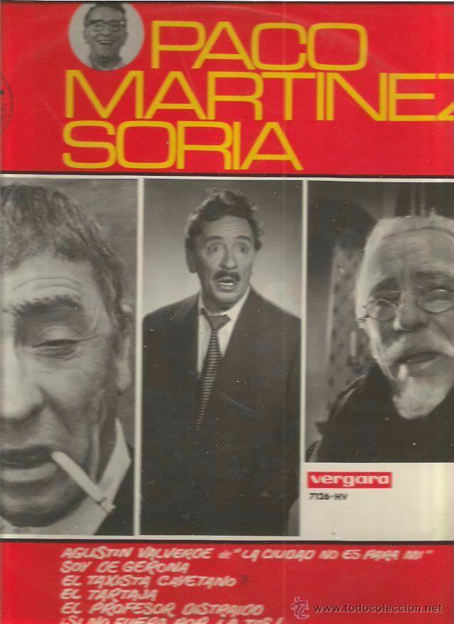 PACO MARTINEZ SORIA (Música - Discos - LP Vinilo - Otros estilos)