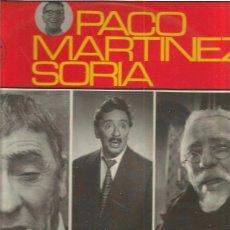 Discos de vinilo: PACO MARTINEZ SORIA. Lote 49521511
