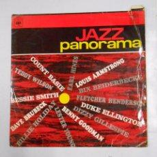 Discos de vinilo: JAZZ PANORAMA. COUNT BASIE. EARL HINES. LOUIS ARMSTRONG. BIX BEIDERBECKE. TEDDY WILSON... TDKDA8. Lote 49522661