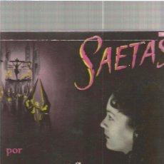 Discos de vinilo: LA JEREZANA SAETAS. Lote 49524154