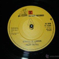 Discos de vinilo: RALPH MCTELL STREETS OF LONDON / SUMMER LIGHTING REPRISE RECORDS K14380, 1974 -- MINT-. Lote 49526728