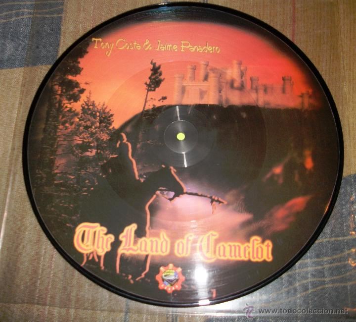 TONY COSTA & JAIME PANADERO - THE LAND OF CAMELOT - PICTURE DISC (Música - Discos - LP Vinilo - Techno, Trance y House)