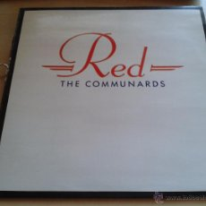Discos de vinilo: THE COMMUNARDS, RED - DISCO VINILO AÑO 1987. Lote 49530652