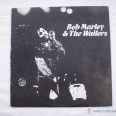 Discos de vinilo: BOB MARLEY - WAR / NO MORE TROUBLE / EXODUS - MAXI SINGLE - PROMO - RARO. Lote 49531085