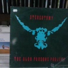 Discos de vinilo: STEREOTOMY,THE ALAN PARSON PROJECT. Lote 49531121