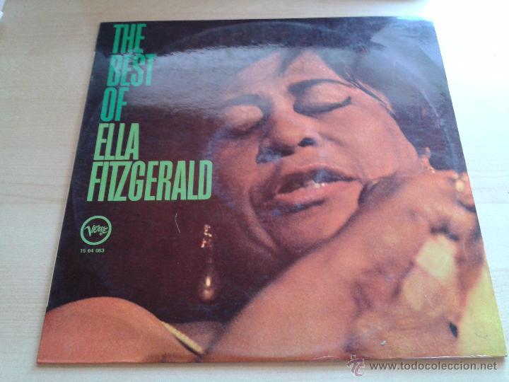 ELLA FITZGERALD, THE BEST OF. - DISCO VINILO AÑO 1970. VELWE POLYGRAM. (Música - Discos de Vinilo - EPs - Funk, Soul y Black Music)