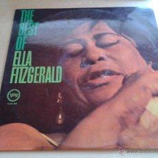 Discos de vinilo: ELLA FITZGERALD, THE BEST OF. - DISCO VINILO AÑO 1970. VELWE POLYGRAM.. Lote 49531521