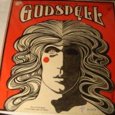 Discos de vinilo: LP GODSPELL - EDICION ESPAÑOLA 1972 PORTADA VG++ DISCO G-RAYAS. Lote 49535355