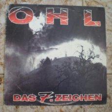 Discos de vinilo: LP. OHL. DAS 7 ZEICHEN. VINILO TRASPARENTE. Lote 49544389