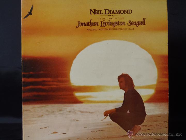NEIL DIAMOND JONATHAN LIVINGSTON SEAGULL CON LIBRETO EDICION ESPAÑOLA 1973 (Música - Discos de Vinilo - EPs - Pop - Rock Extranjero de los 70)