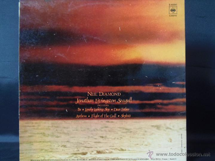 Discos de vinilo: NEIL DIAMOND JONATHAN LIVINGSTON SEAGULL CON LIBRETO EDICION ESPAÑOLA 1973 - Foto 2 - 49545352