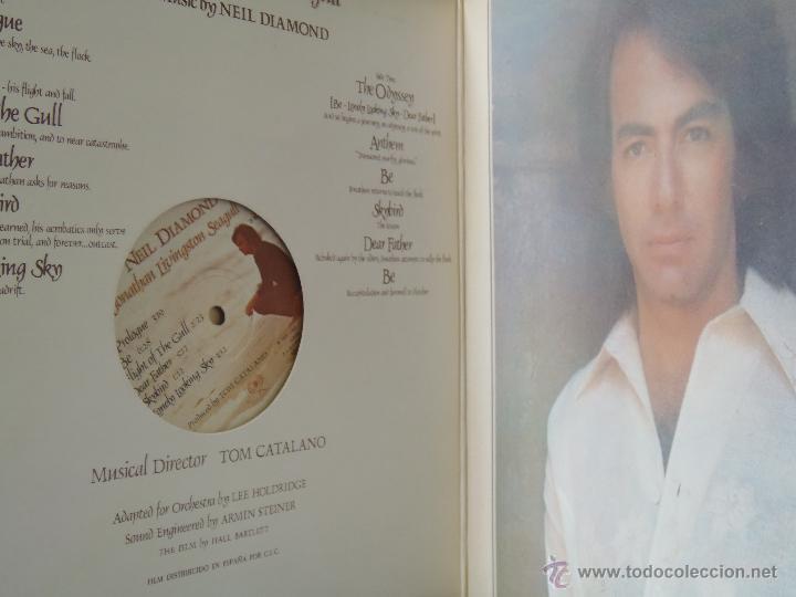 Discos de vinilo: NEIL DIAMOND JONATHAN LIVINGSTON SEAGULL CON LIBRETO EDICION ESPAÑOLA 1973 - Foto 3 - 49545352