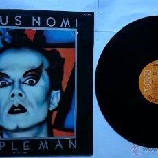 Discos de vinilo: KLAUS NOMI - SIMPLE MAN (1ª EDICION 1982). Lote 49547532