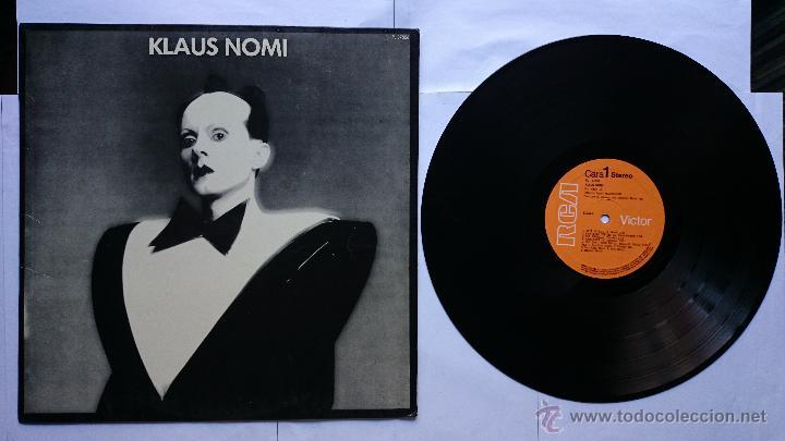 KLAUS NOMI - KLAUS NOMI (1ª EDICION 1981) (Música - Discos - LP Vinilo - Pop - Rock - New Wave Extranjero de los 80)