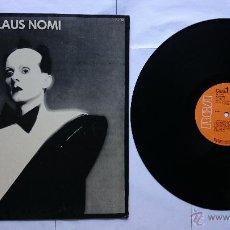 Discos de vinilo: KLAUS NOMI - KLAUS NOMI (1ª EDICION 1981). Lote 49547752