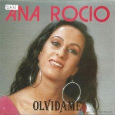 Discos de vinilo: ANA ROCIO-OLVIDAME + TANGO SINGLE VINILO 1992 SPAIN. Lote 49553850