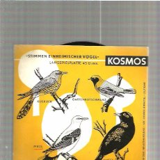 Discos de vinilo: CANTOS DE PAJAROS. Lote 49554375