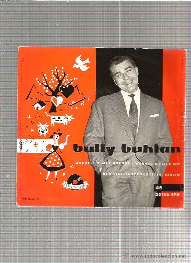 BULLY BUHLAN (Música - Discos - Singles Vinilo - Otros estilos)