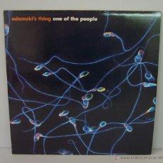 Discos de vinilo: DISCO VINILO ADAMSKI'S THING - ONE OF THE PEOPLE SINGLE 1998. Lote 49562892