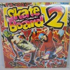 Discos de vinilo: DISCO VINILO DOBLE SKATE BOARD 2 – BLANCO Y NEGRO MUSIC 1990. Lote 49563074