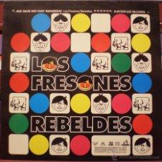 Discos de vinilo: LOS FRESONES REBELDES - ES QUE NO HAY MANERA - VINILO AZUL - SUBTERFUGE. Lote 49563443