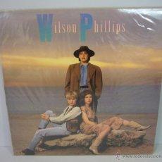Discos de vinilo: DISCO VINILO WILSON PHILLIPS - WILSON PHILLIPS 1990 RELEASE ME OVER AND OVER. Lote 49563957