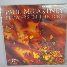 Discos de vinilo: DISCO VINILO PAUL MCCARTNEY - FLOWERS IN THE DIRT 1989 YOU WANT HER TOO MY BRAVE FACE. Lote 49564060