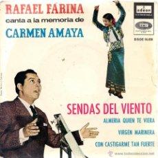 Discos de vinilo: RAFAEL FARINA. Lote 49565446
