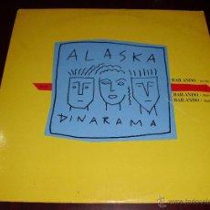 Discos de vinilo: ALASKA Y DINARAMA MAXI BAILANDO. Lote 49565464