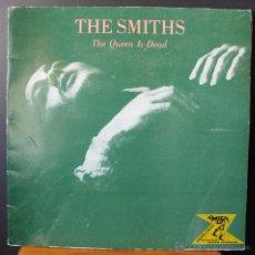 Discos de vinilo: THE SMITHS.THE QUEEN IS DEAD.LP PUBLICADO EN ESPAÑA EN 1986 POR NUEVOS MEDIOS. Lote 49565522