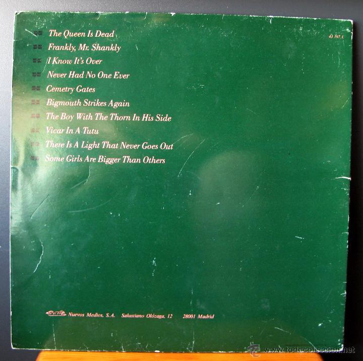 Discos de vinilo: The Smiths.The Queen Is Dead.Lp publicado en España en 1986 por Nuevos Medios - Foto 2 - 49565522