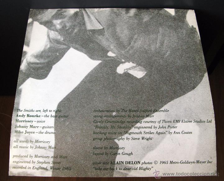 Discos de vinilo: The Smiths.The Queen Is Dead.Lp publicado en España en 1986 por Nuevos Medios - Foto 4 - 49565522