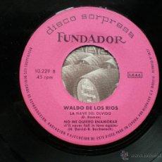 Discos de vinilo: EP FUNDADOR WALDO DE LOS RIOS VER FOTOS TITULOS 1971 .. Lote 49566658