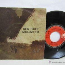 Discos de vinilo: NEW ORDER - SHELLSHOCK - 1986 - AM RECORDS - VG/VG. Lote 208817180