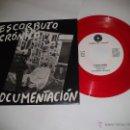 Discos de vinilo: ESCORBUTO CRONICO, DOCUMENTACIÓN. PUNK CANARIAS AÑOS 80. SINGLE VINILO NUEVO REEDICIÓN AÑOS 00 (C1). Lote 142820766