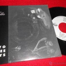 Discos de vinilo: 2 TWO DEEE JAYS ELLA 7 SINGLE 1993 LUCAS RECORDS PROMO UNA CARA VALENCIA DISCO. Lote 49583519