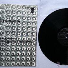 Discos de vinilo: PIERRE HENRY - LA NOIRE A SOIXANTE+GRANULOMETRIE (MUSICA CONCRETA) (1ª EDICION 1970). Lote 49587187
