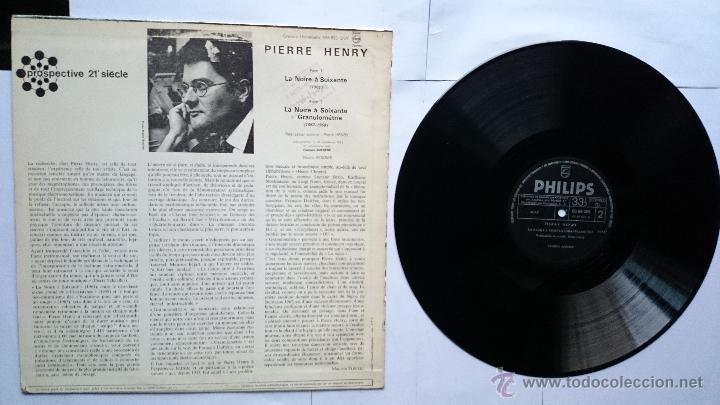 Discos de vinilo: PIERRE HENRY - LA NOIRE A SOIXANTE+GRANULOMETRIE (MUSICA CONCRETA) (1ª EDICION 1970) - Foto 2 - 49587187