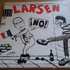 Discos de vinilo: LARSEN, NO! - PUNK DE CULTO AÑOS 80, REEDICIÓN AÑO 2001 - MAXI-SINGLE VINILO NUEVO SIN ESTRENAR (C2). Lote 51770512