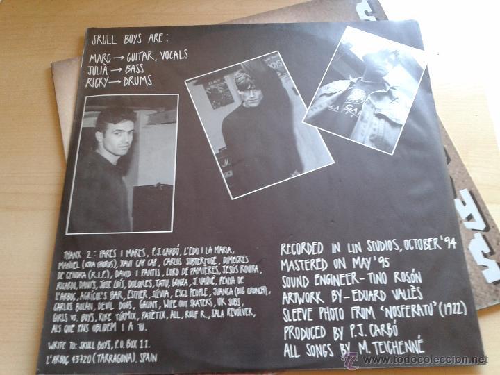 Discos de vinilo: SKULL BOYS - PUNKROCK CATALUÑA EDICIÓN AÑO 1995 MAXI SINGLE EP VINILO SIN ESTRENAR RARO C1 - Foto 4 - 142821254