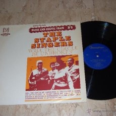 Discos de vinilo: THE STAPLE SINGERS BLUES AND GOSPEL TRAIN Nº 5 WILL THE CIRCLE BE UNBROKEN- SPAIN 1969 DISCOPHON. Lote 49592731