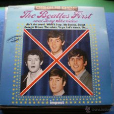 Discos de vinilo: THE BEATLES & T.SHERIDAN FEATURING TONY SHERIDAN LP UK ..LABEL IMPACT STEREO PDELUXE. Lote 49594310