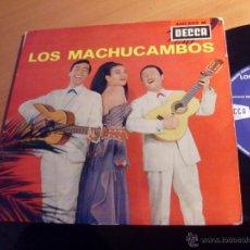 Discos de vinilo: LOS MACHUCAMBOS ( LA MAMMA + 3) EP FRANCIA 1972 (EX+/EX+) (EP12). Lote 49596277